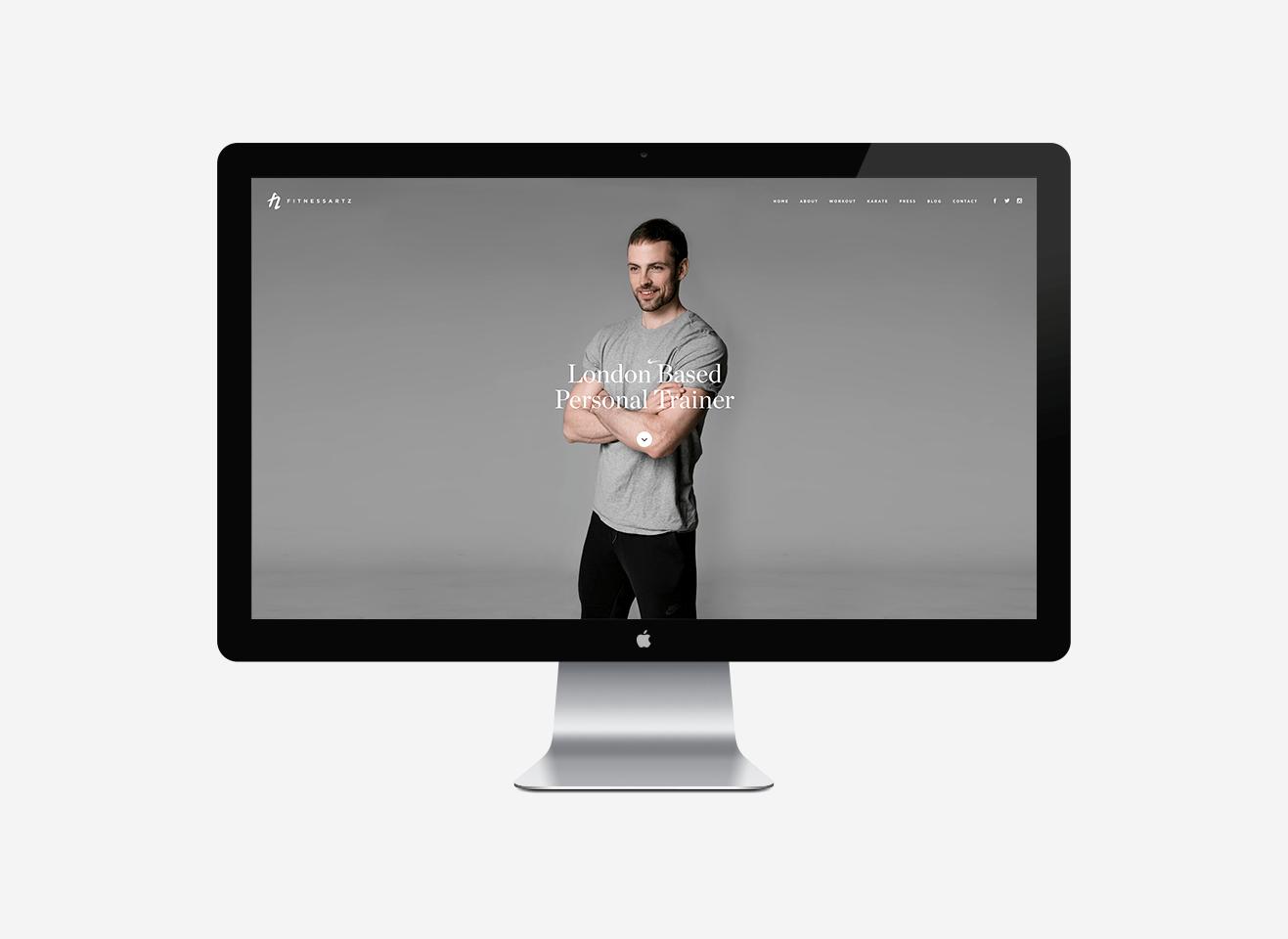 FitnessArtz Web Design