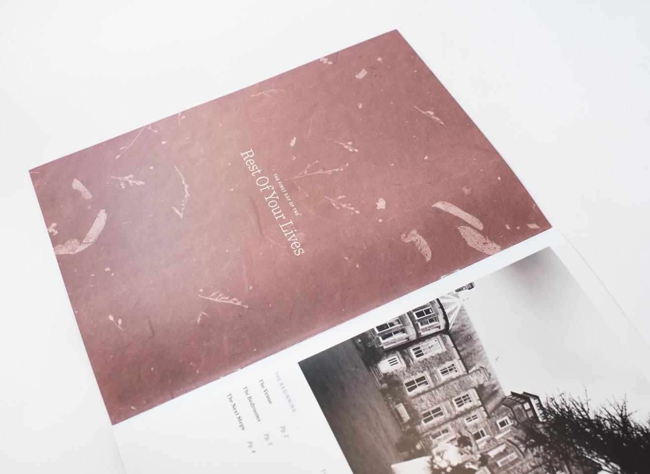 Makeney Hall Wedding Brochure