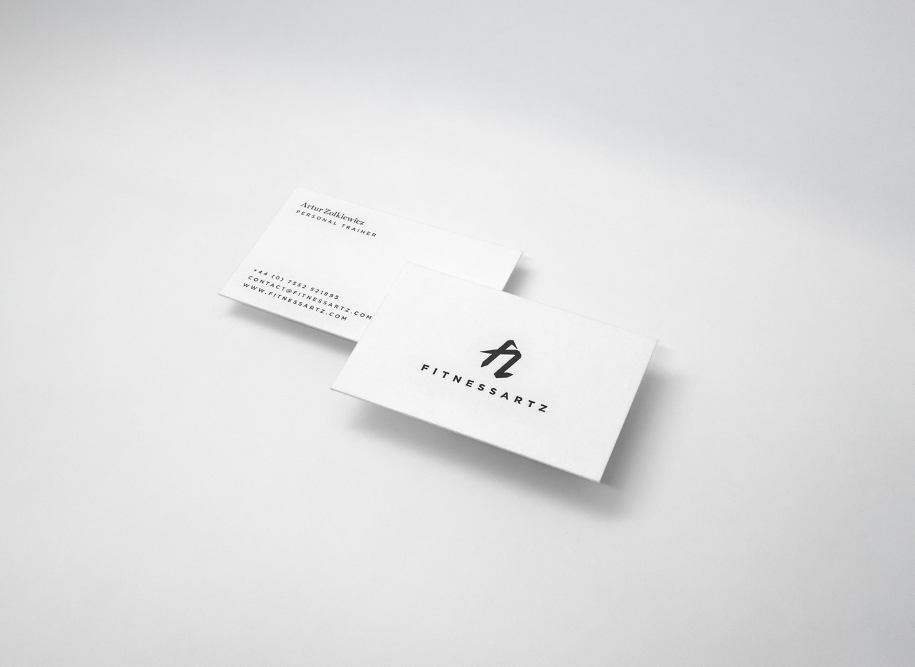 FitnessArtz Business Card