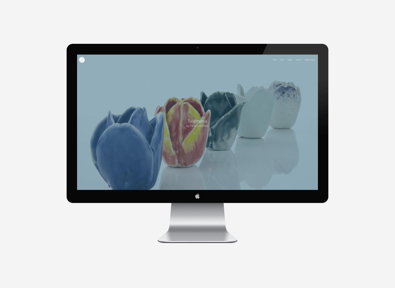 Paul Cummins Ceramics Web Design