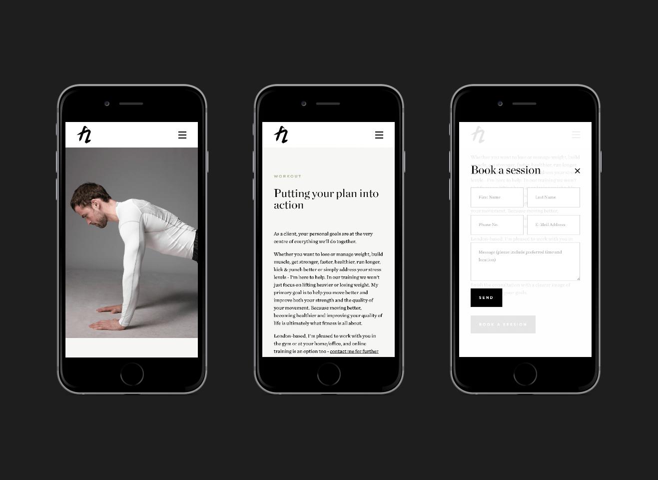 FitnessArtz Responsive Web Design