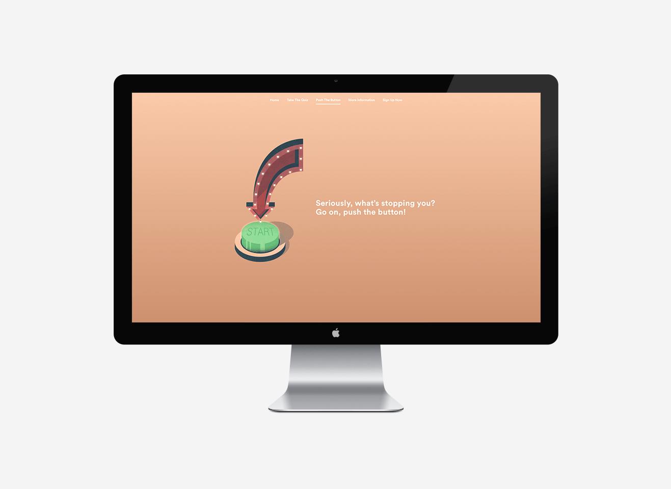 Derby City Council, Push The Button Web Design